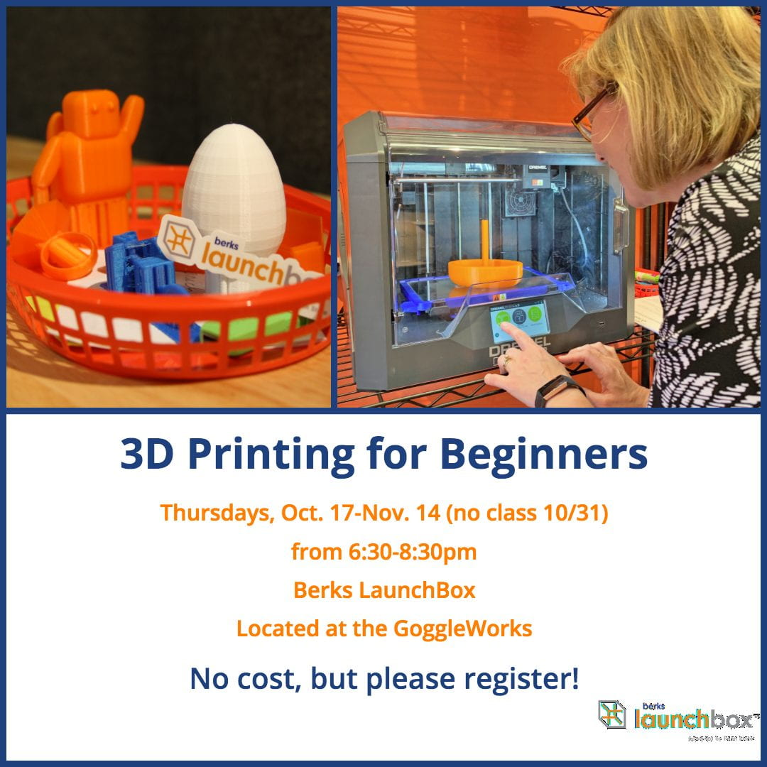 3D Printing for Beginners Fall 2019 Class