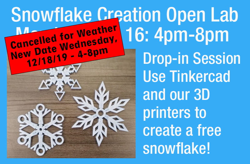 3D Print a  Customized Snowflake