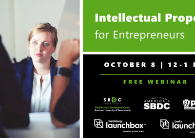 Intellectual Property for Entrepreneurs
